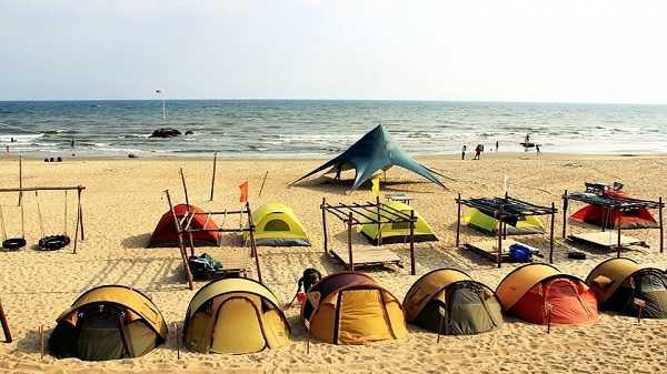 cắm trại ở cù lao xanh quy nhơn