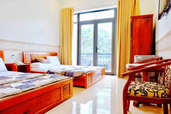 phòng đôi khách sạn sao biển quy nhơn